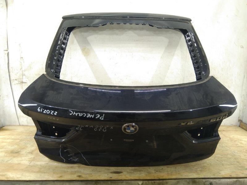 Крышка багажника Bmw X6 F`16 2014