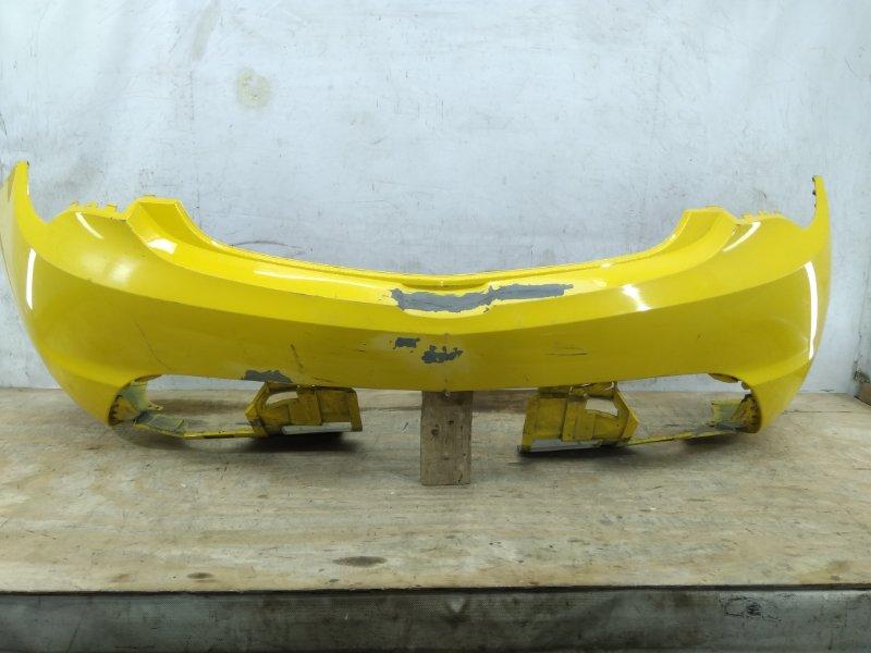 Бампер Opel Astra Gtc J 2012 задний