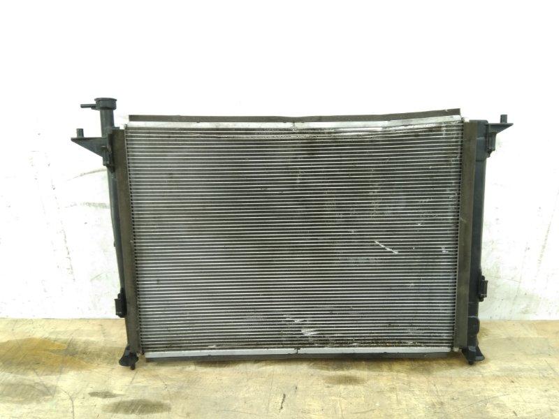 Радиатор охлаждения двс Hyundai Santa Fe 4 2018