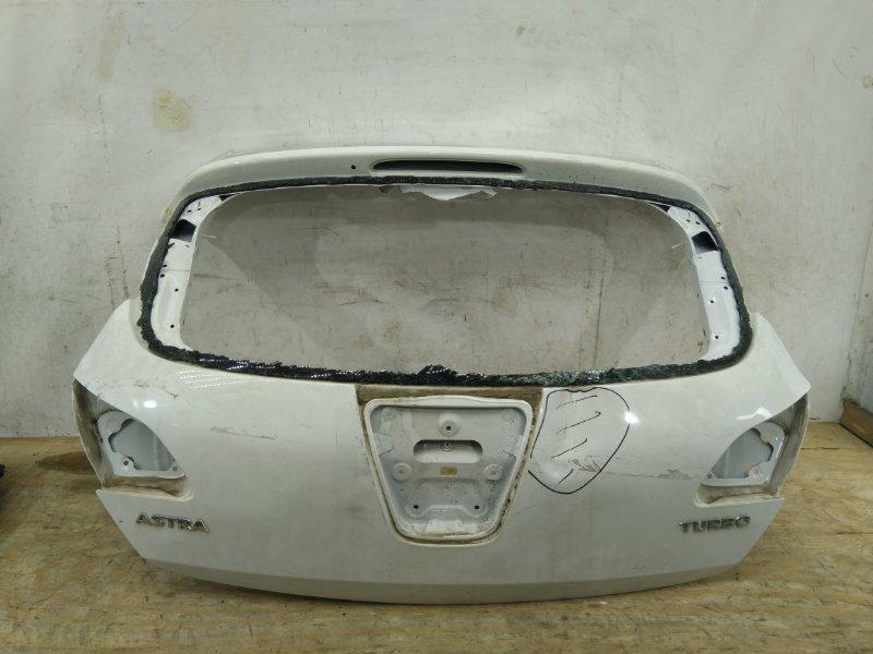 Крышка багажника Opel Astra J 2009