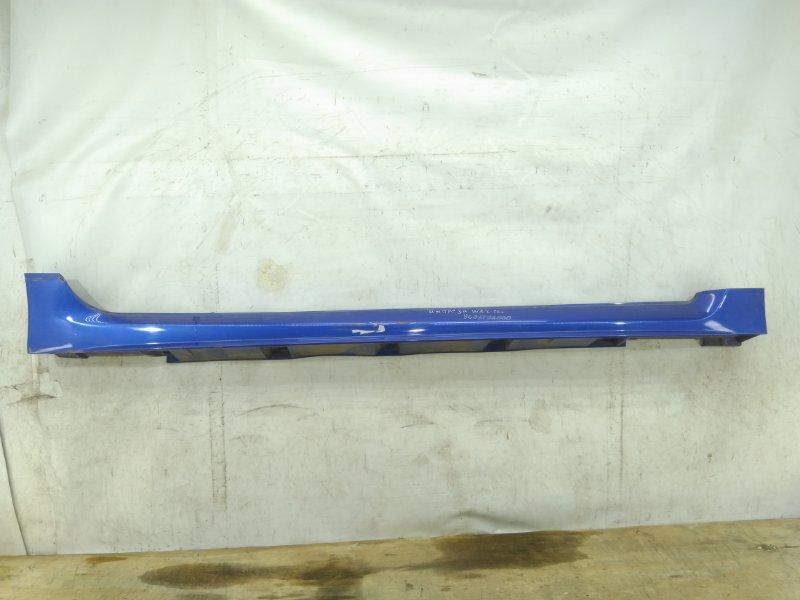 Накладка порога Subaru Impreza Wrx Sti GRB 2007 правая