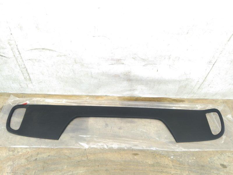 Накладка бампера Kia Picanto `2 2011 задняя