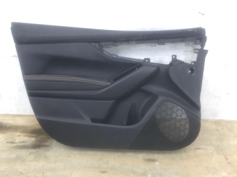 Обшивка двери Subaru Xv 2 2017 передняя левая