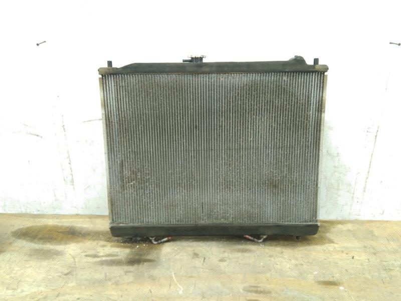 Радиатор охлаждения двс Mitsubishi Pajero 3