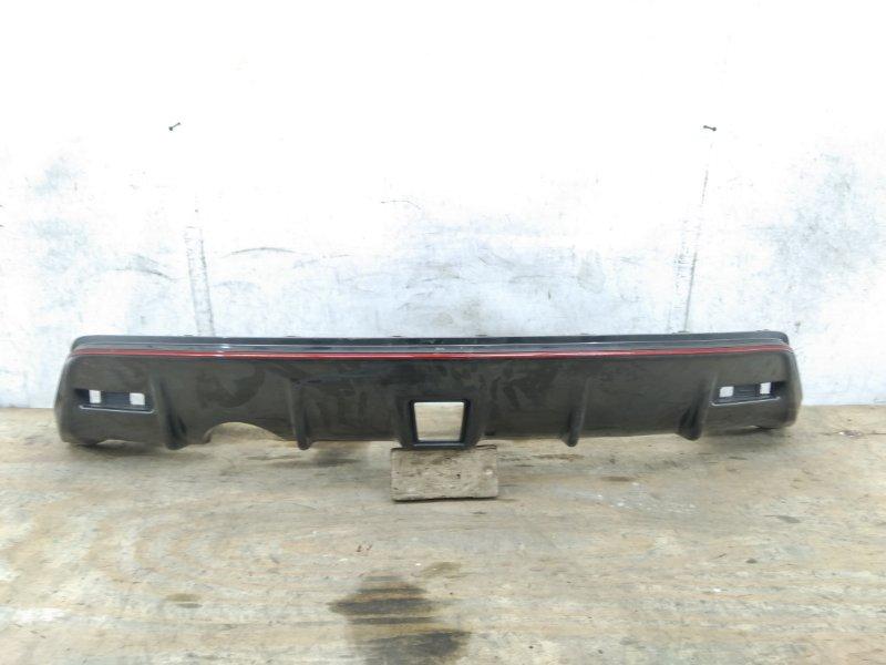 Накладка бампера Nissan Juke 1 F15 2010 задняя