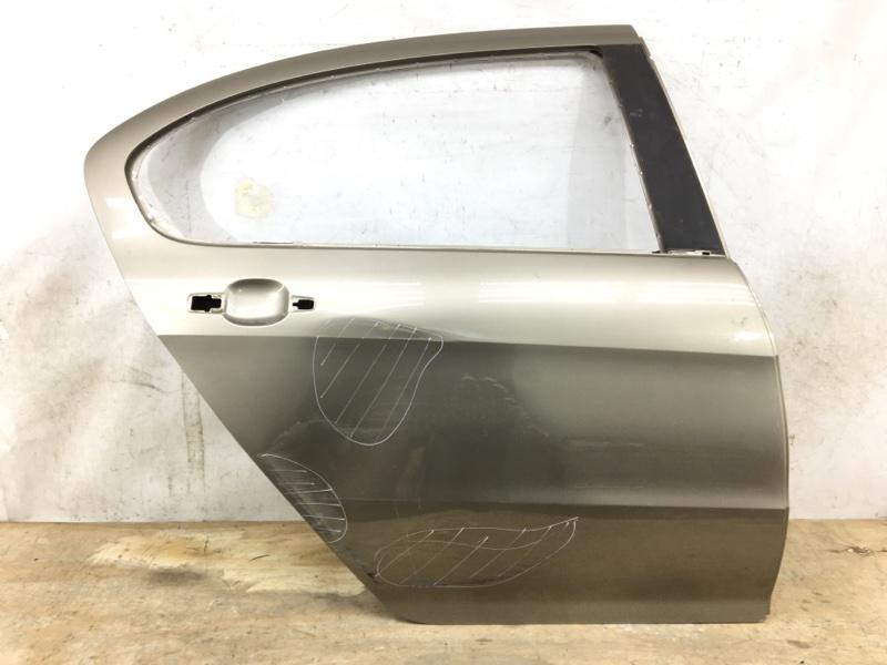 Дверь Peugeot 408 1 2012 задняя правая