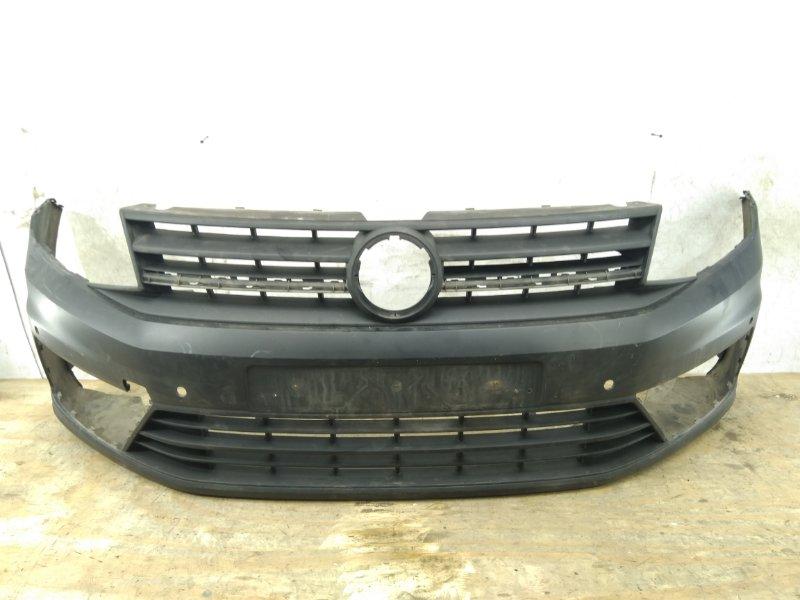 Бампер Volkswagen Caddy 4 2015 передний