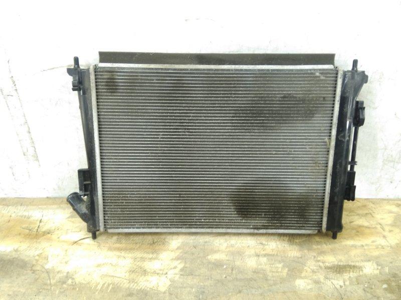 Радиатор охлаждения двс Hyundai Creta `1 2016
