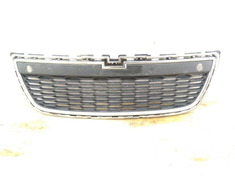 Решетка в бампер Chevrolet Captiva 1 C140 2011