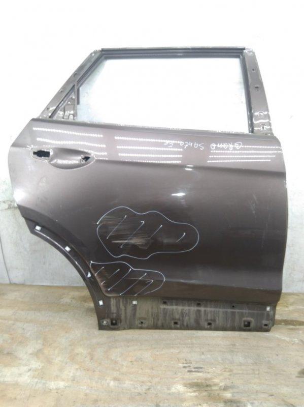 Дверь Hyundai Grand Santa Fe `3 2012 задняя правая