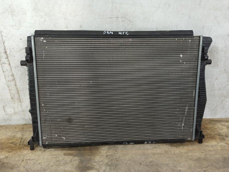 Радиатор охлаждения двс Skoda Octavia 3 A7 2013
