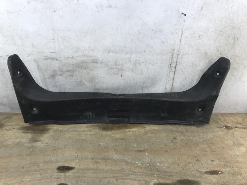 Накладка задней панели Nissan Almera 3 G15 2013