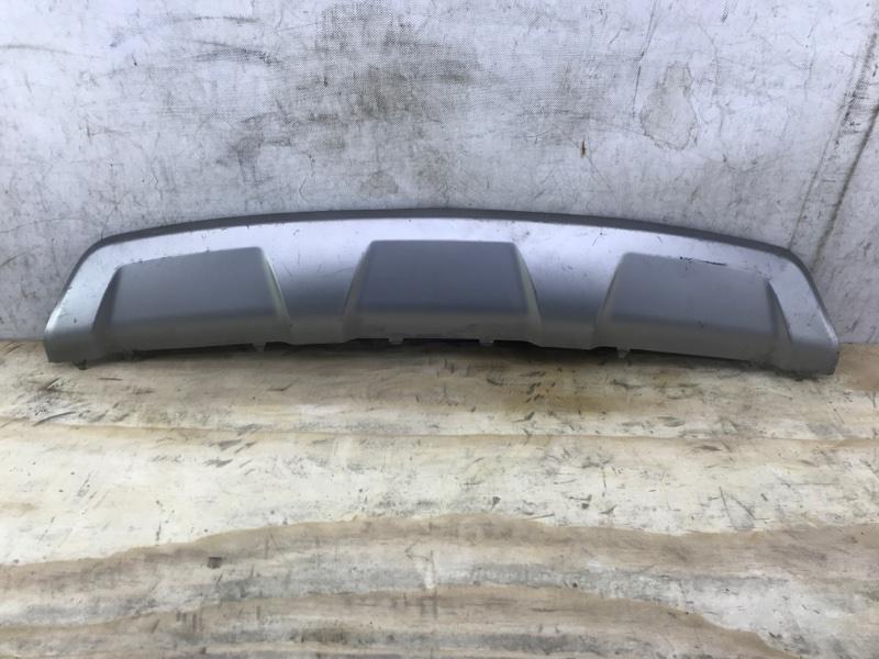 Накладка бампера Hyundai Santa Fe 3 2012 задняя