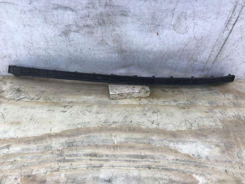 Накладка бампера Skoda Kodiaq 1 2016 задняя