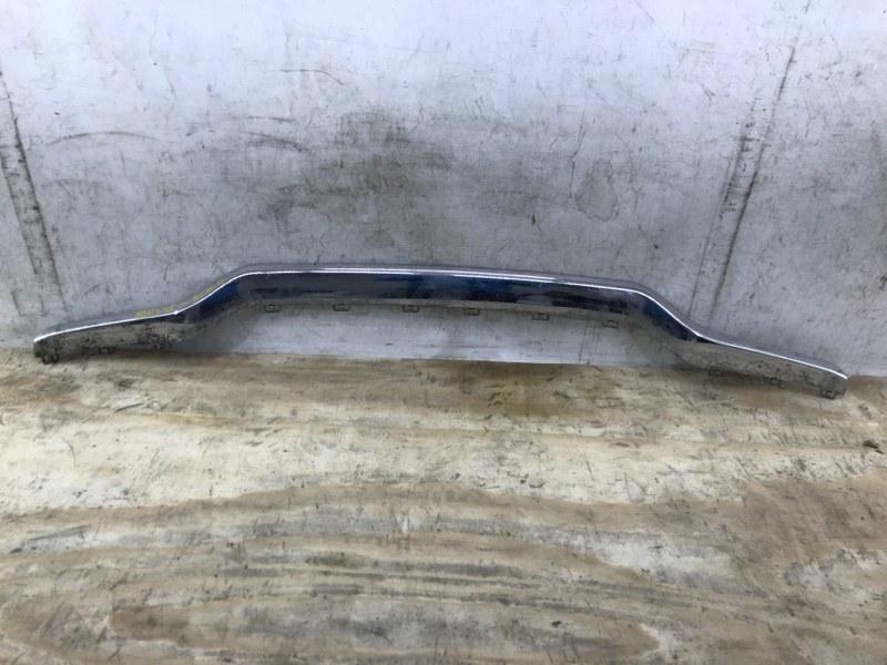 Накладка бампера Mercedes Ml W166 2011 задняя