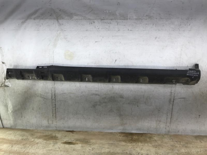 Накладка порога Renault Sandero 2 2013 правая