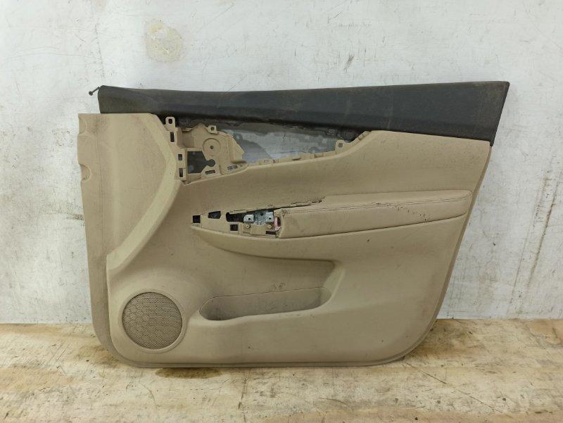 Обшивка двери Nissan Qashqai 2 J11 передняя правая