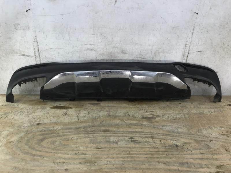 Юбка бампера Mercedes Gle W166 2015 задняя