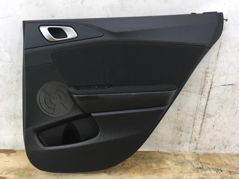 Обшивка двери Kia Ceed 3 2018 задняя правая
