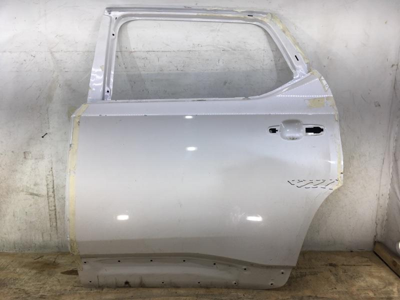 Дверь Chevrolet Traverse 2 2017 задняя левая