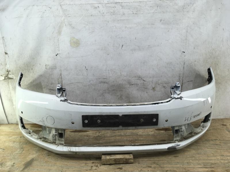Бампер Skoda Rapid 1 2012 передний