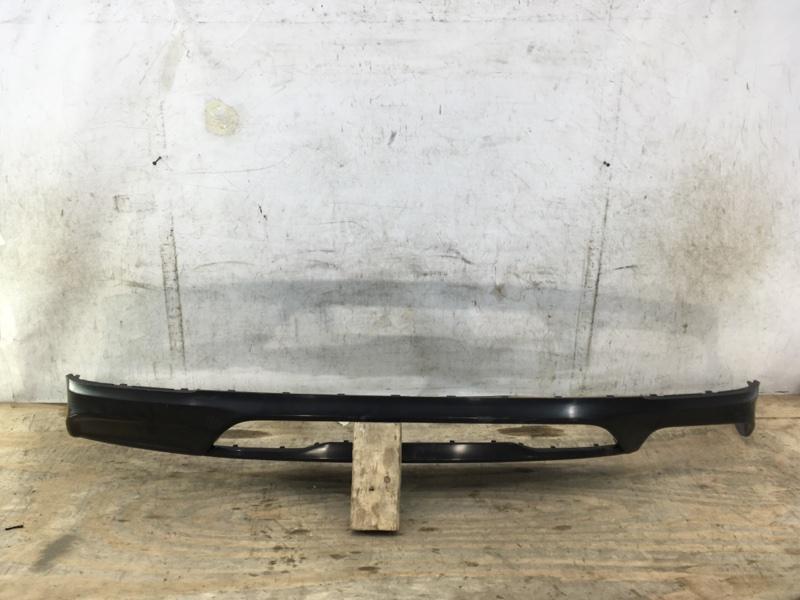 Юбка бампера Genesis G70 1 2017 задняя