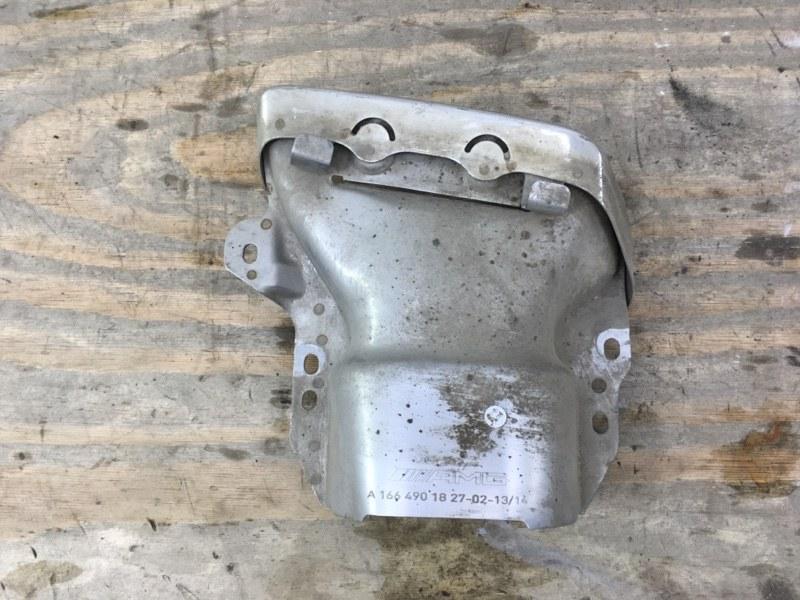 Насадка глушителя Mercedes Gl X166 2012 левая