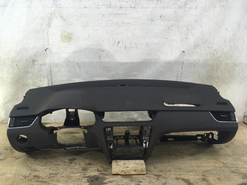Торпеда панель Skoda Octavia 3 A7 2013