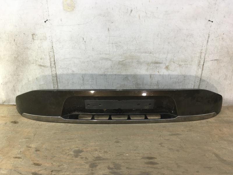 Накладка багажника Citroen C4 Picasso 1 2013 задняя