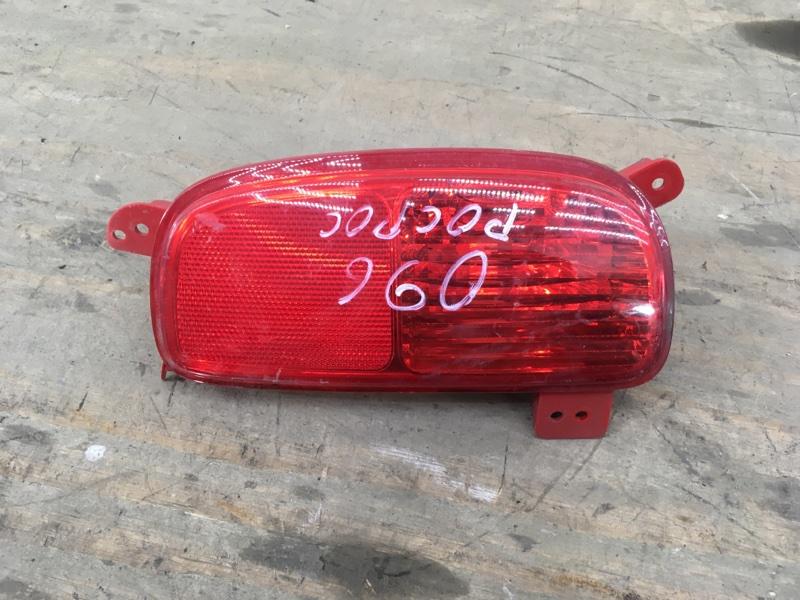Фонарь противотуманный Kia Sorento 2 XM 2012 задний правый