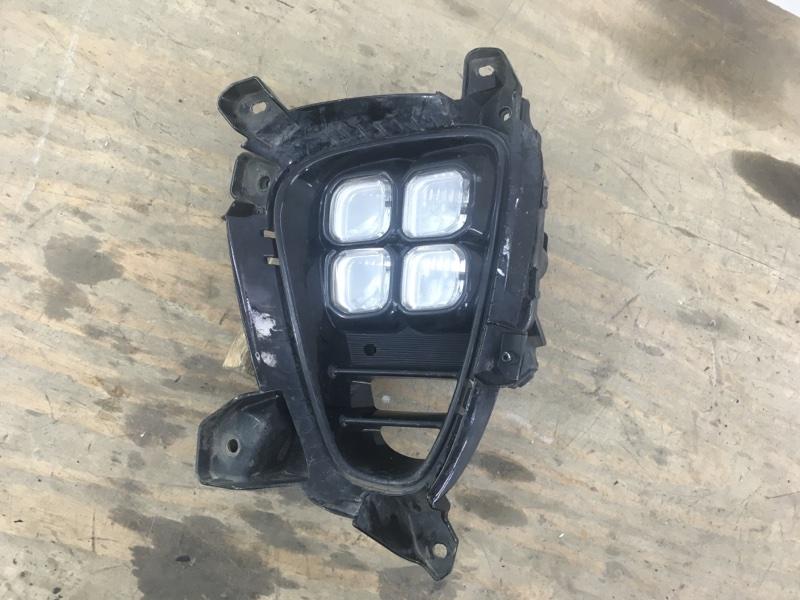 Фара противотуманная led Kia Sorento 3 PRIME 2017 передняя левая