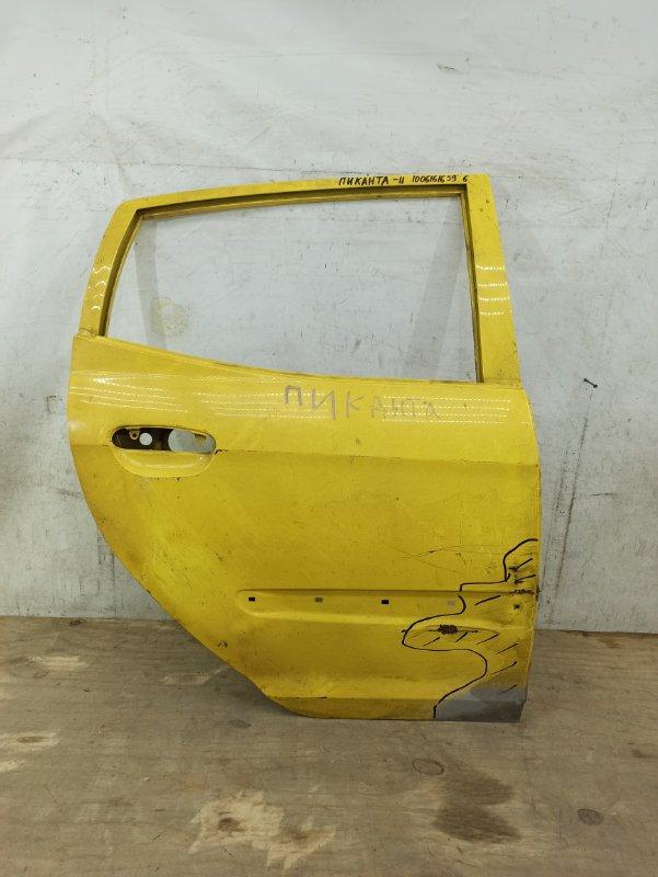 Дверь Kia Picanto 1 2004 задняя правая