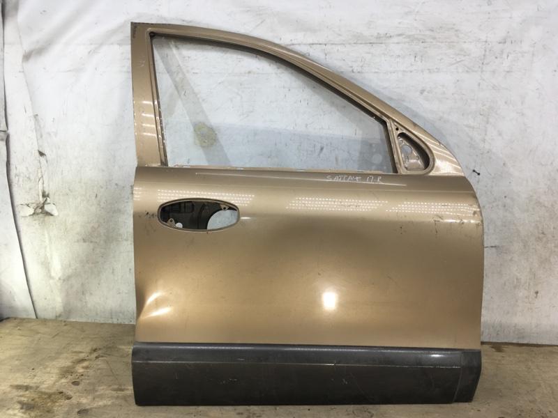 Дверь Hyundai Santa Fe 1 2000 передняя правая