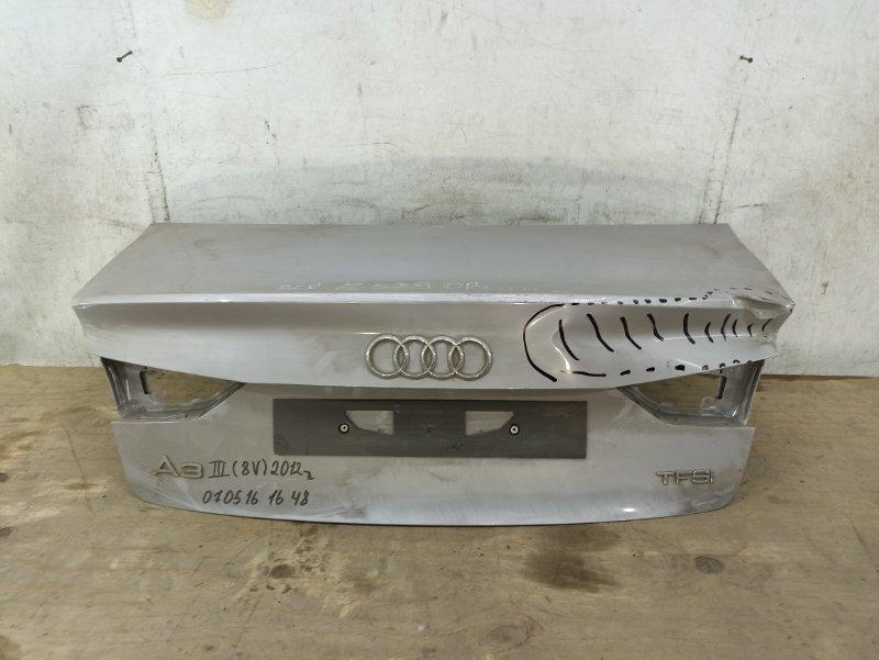 Крышка багажника Audi A3 3 8V 2012