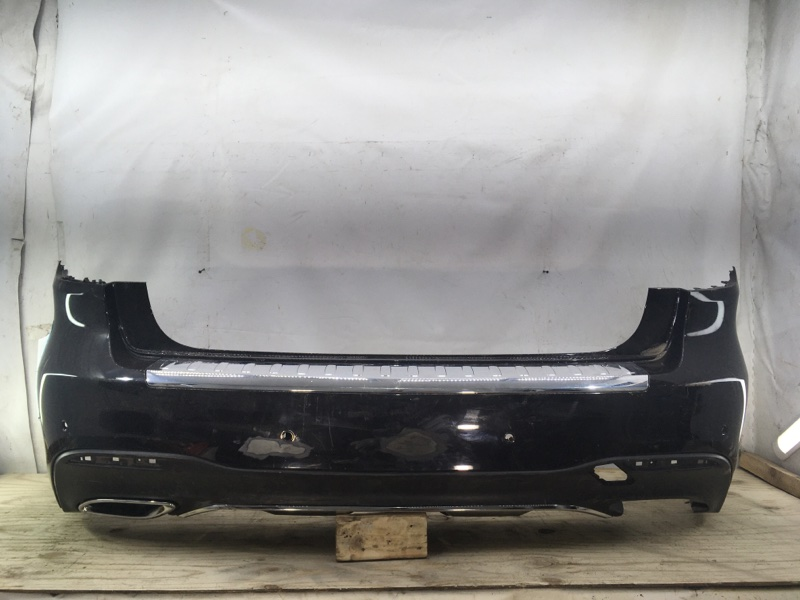 Бампер Mercedes Gls W166 2015 задний