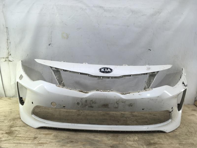 Бампер Kia Optima Gt 4 2016 передний