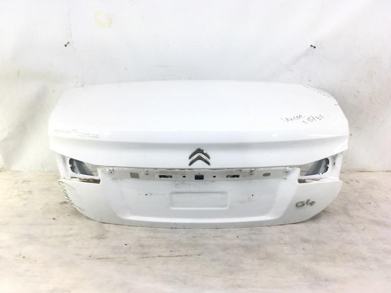 Крышка багажника Citroen C4 2 2010