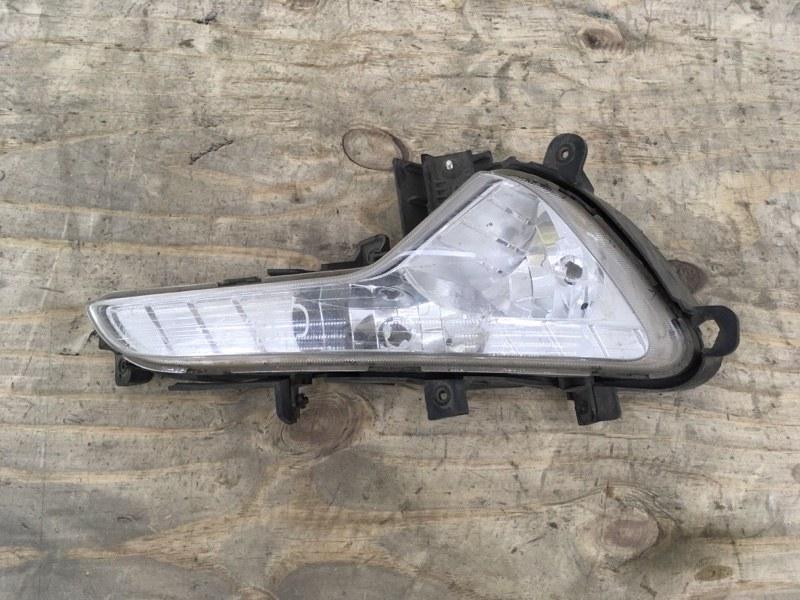 Фара противотуманная Kia Sportage 3 2010 передняя правая