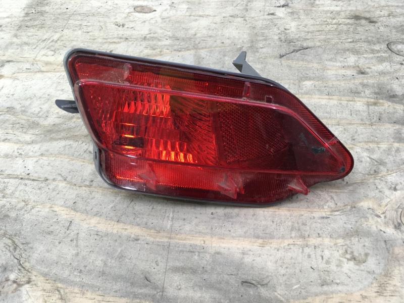 Фонарь противотуманный Toyota Rav4 40 2012 задний левый