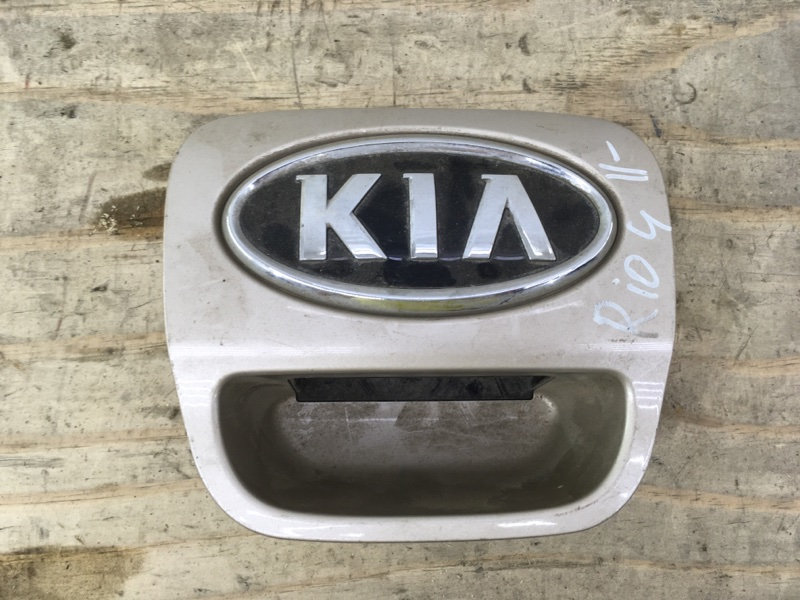 Ручка крышки багажника Kia Rio 3 2015 задняя