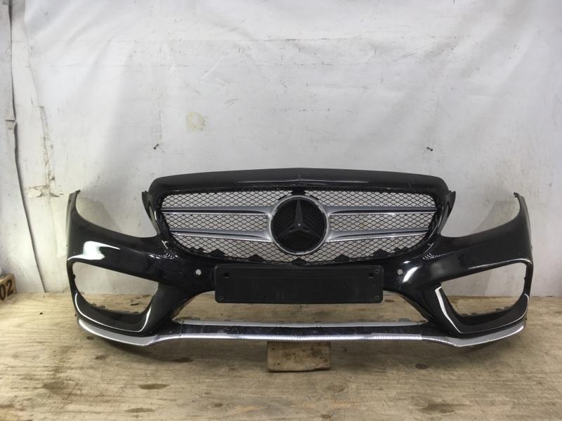 Бампер Mercedes C Amg W205 2014 передний