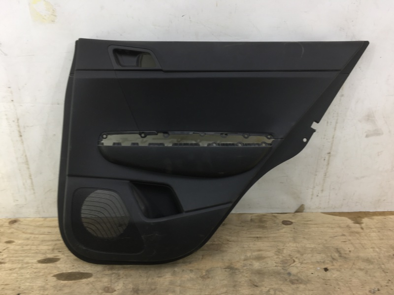 Обшивка двери Kia Sportage 4 QL 2016 задняя правая