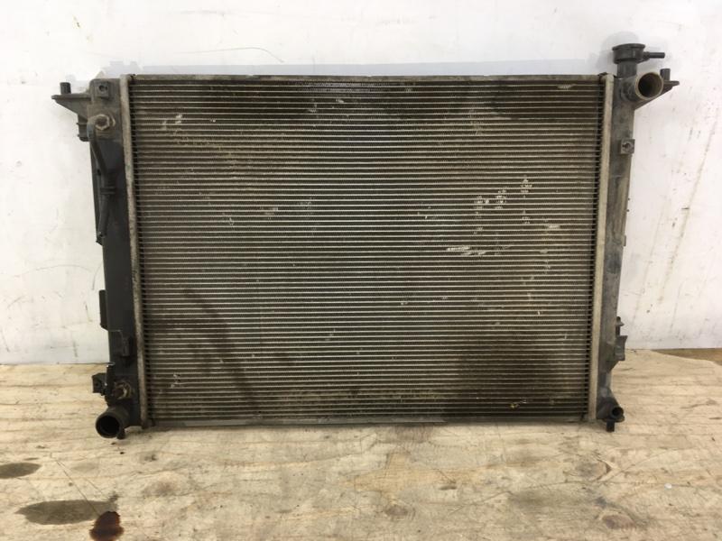 Радиатор охлаждения двс Kia Sportage 3 2010