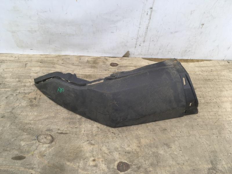 Накладка бампера Honda Crv 4 2012 задняя левая