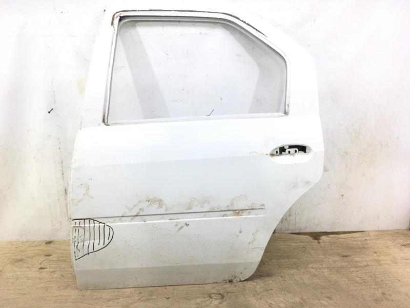 Дверь Renault Logan 1 2004 задняя левая