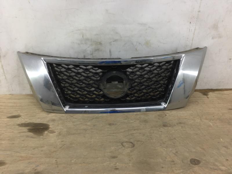 Решетка радиатора Nissan Pathfinder 4 R52 2012