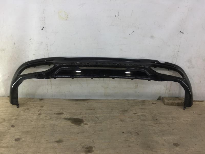 Юбка бампера Mercedes S Amg W222 2017 задняя