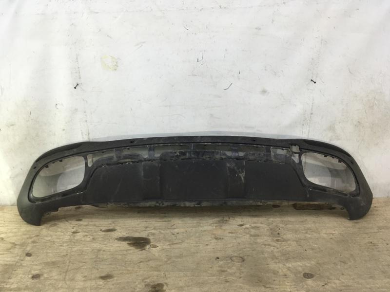 Юбка бампера Mercedes Gle W167 2018 задняя