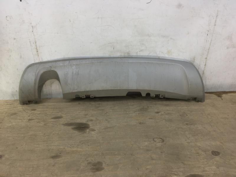 Накладка бампера Nissan Terrano 3 D10 2014 задняя