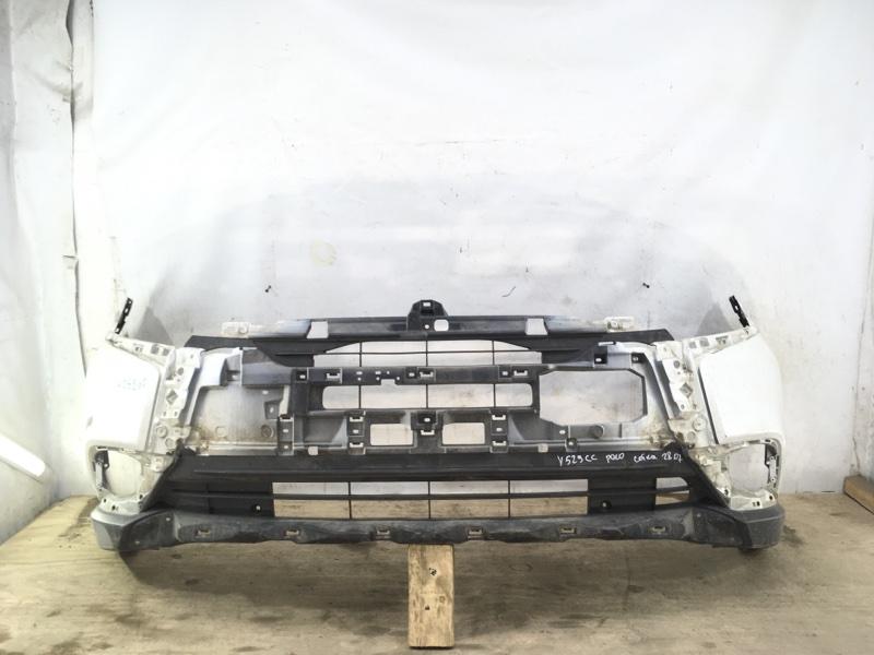 Бампер Mitsubishi Outlander 3 2015 передний